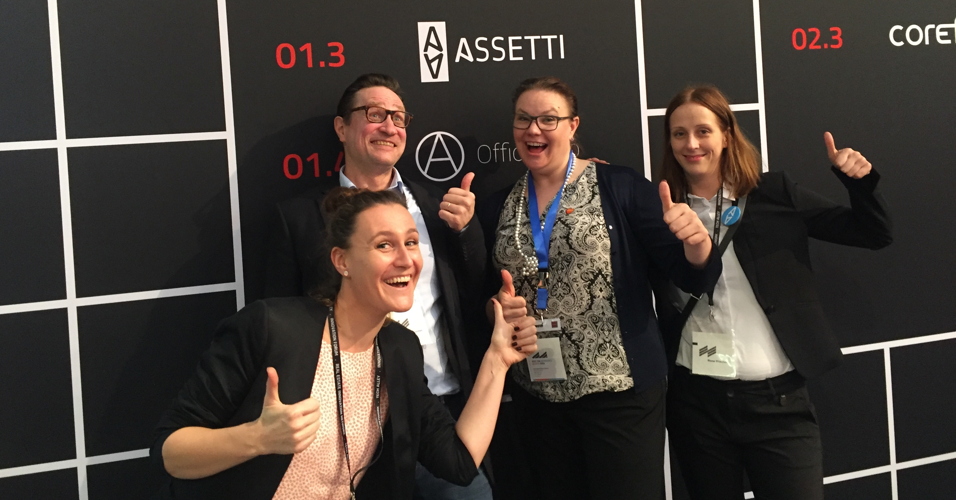 Assetti at European PropTech events
