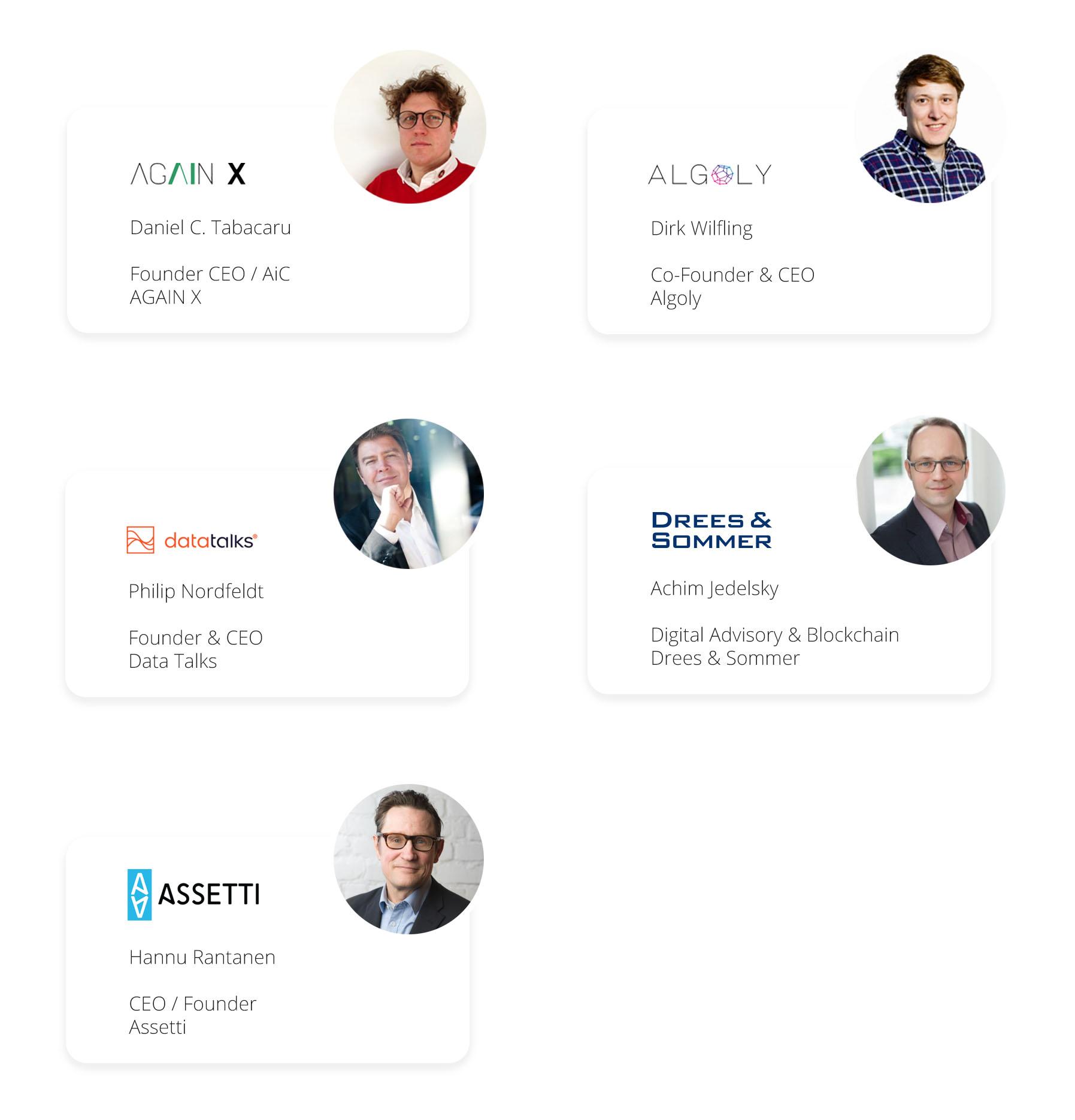 Assetti ESG webinar speakers