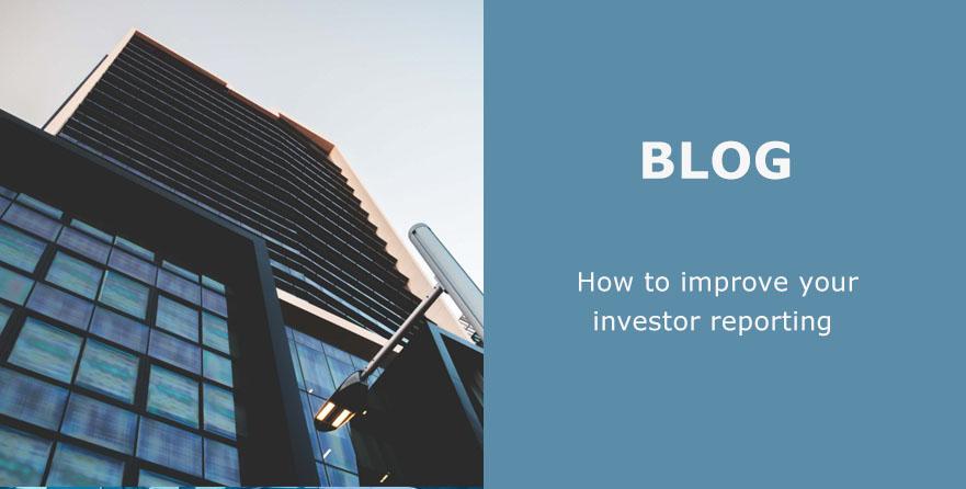 Investor reporting blog